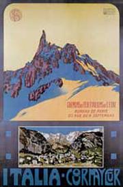 Affiche n. 3 - Italia - Courmayeur